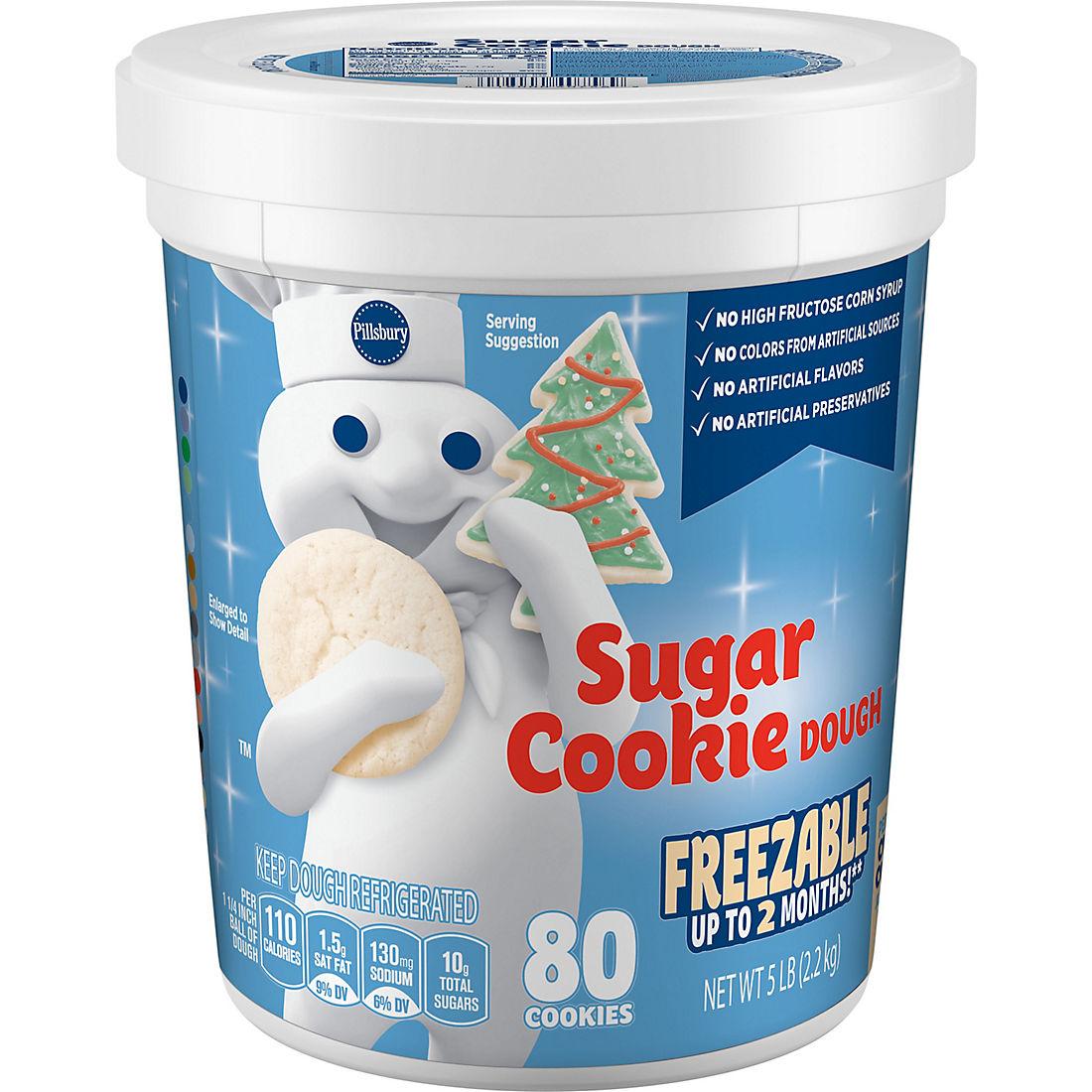 Pillsbury Sugar Cookie Dough 5 Lbs Bjs Wholesale Club