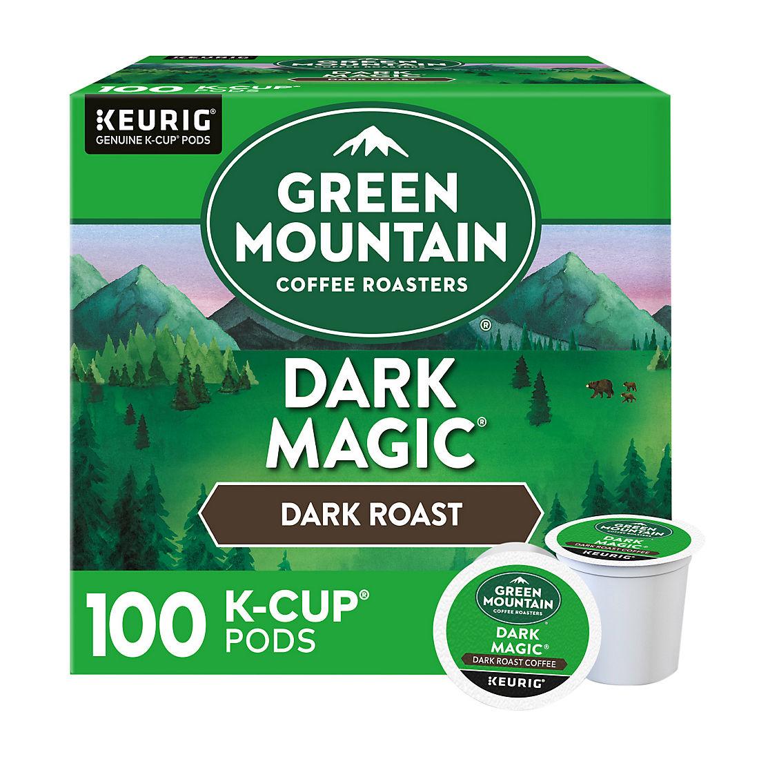 Green Mountain Coffee Dark Magic K-Cup Pods, 100 Ct. - BJs
