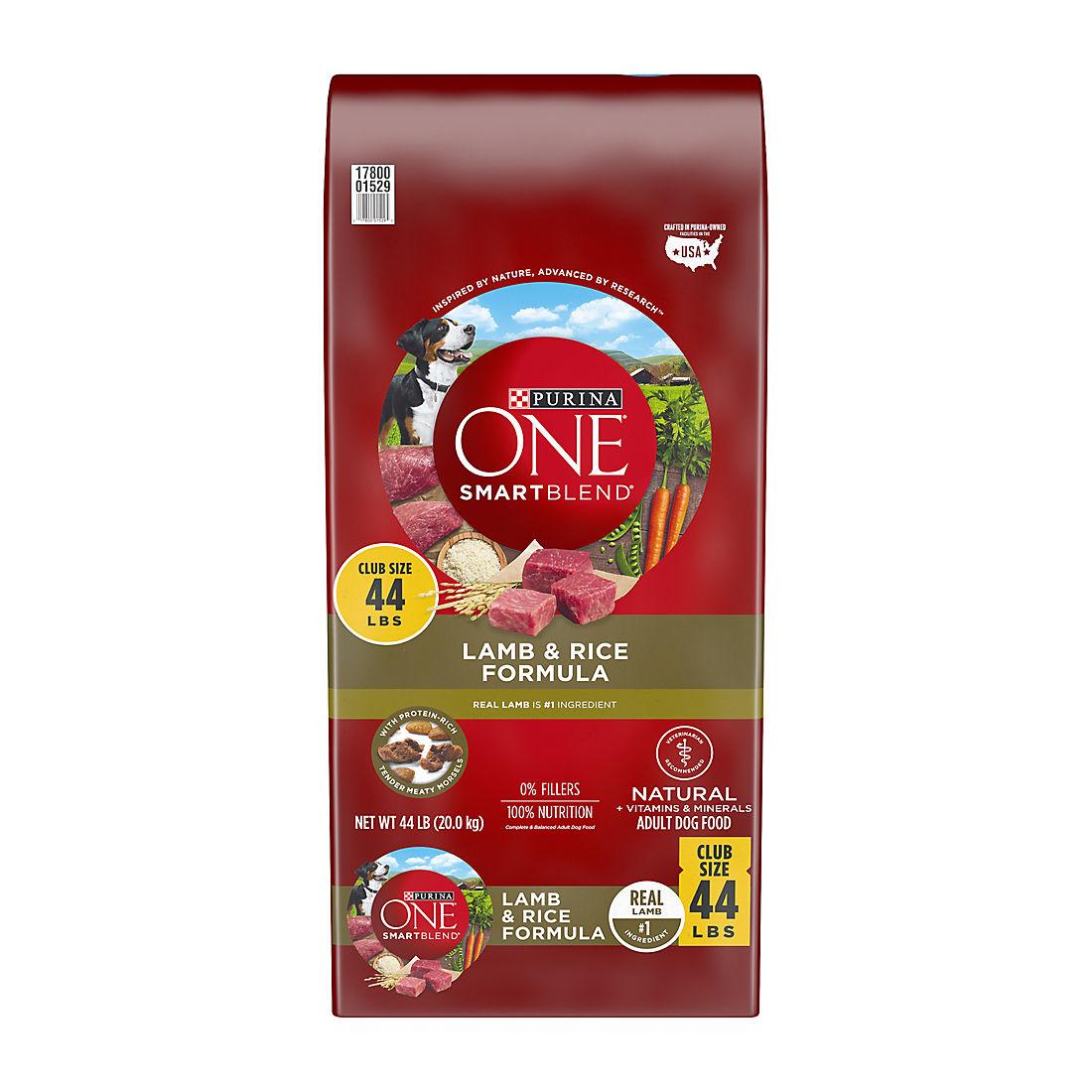 Purina One Smartblend Lamb Amp Rice Formula Adult Premium Dog Food Bjs Wholesale Club
