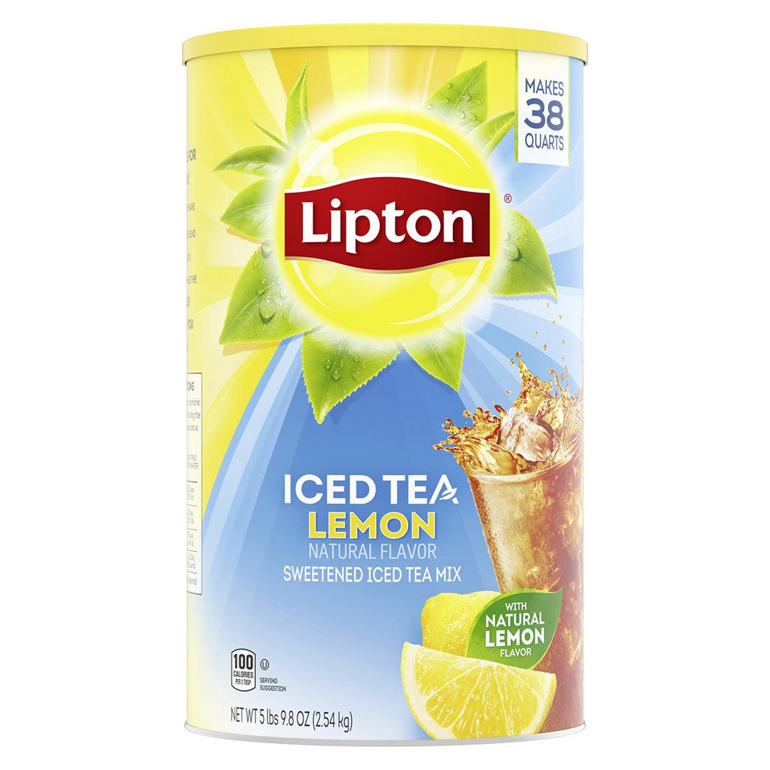Lipton Lemon Iced Tea Mix 38 Qt Bjs Wholesale Club