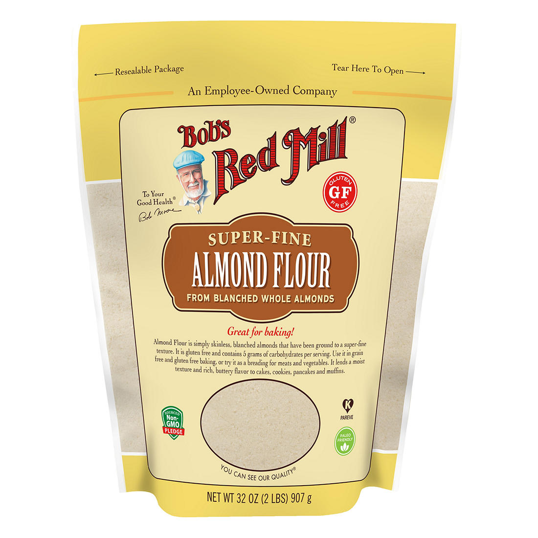 Bob S Red Mill Super Fine Almond Flour Bjs Wholesale Club