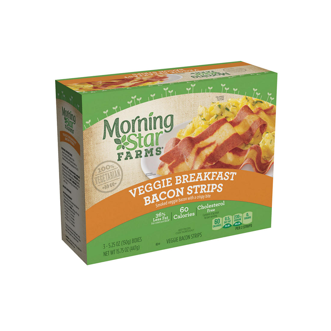 Morningstar Farms Veggie Breakfast Bacon Strips Bjs Wholesale Club