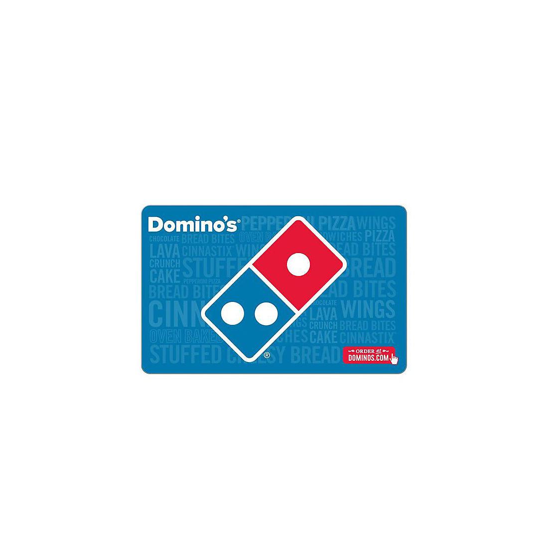20 Domino S Gift Card Bjs Wholesale Club