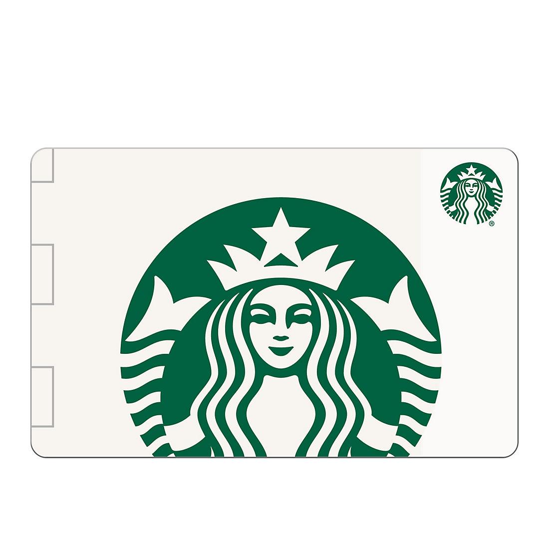 $6 Starbucks Gift Card, 6 pk. - BJs WholeSale Club