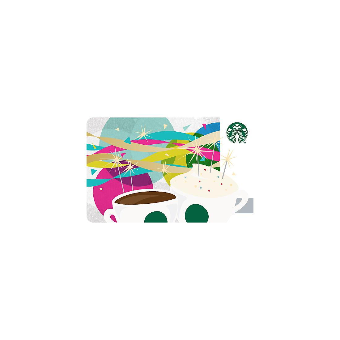 $7 Starbucks Gift Card - Happy Birthday