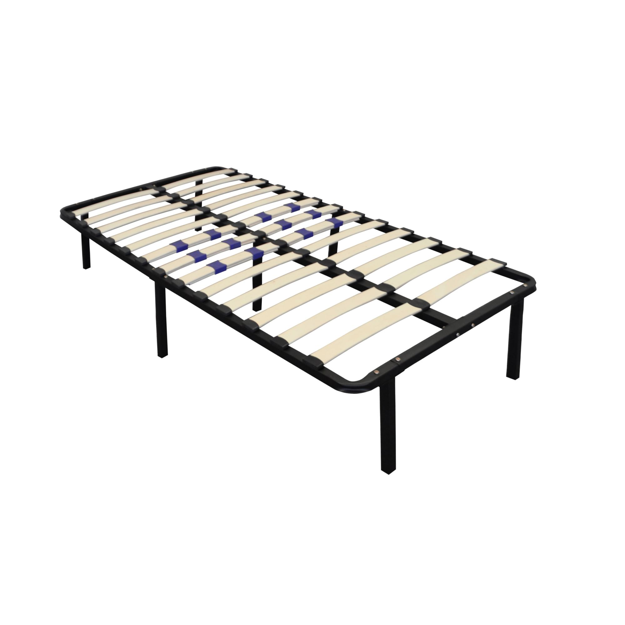 Image of: 14 Contour Rest Dream Support Modern Twin Size Bed Frame Bjs Wholesale Club