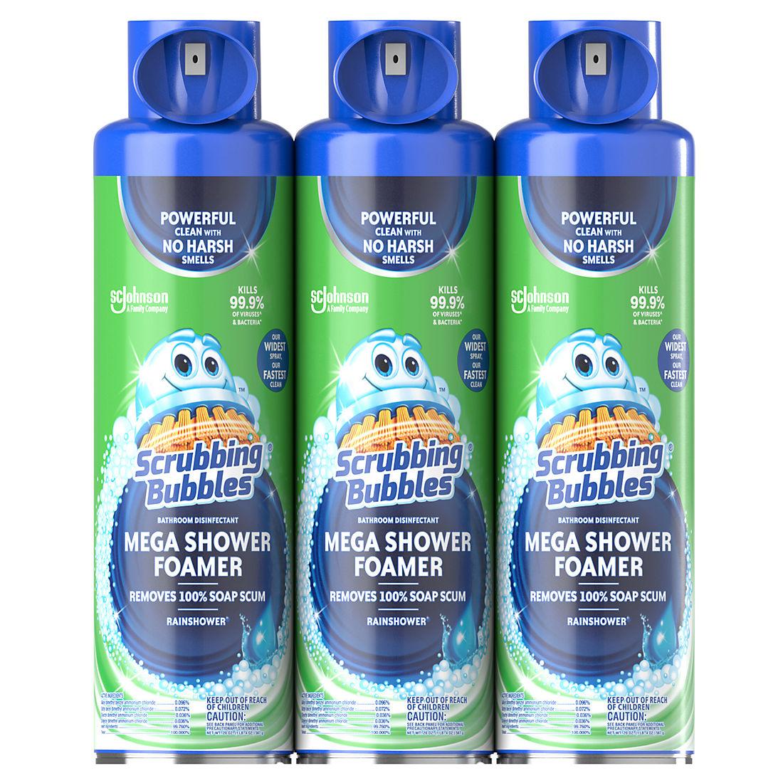 Scrubbing Bubbles Mega Shower Cleaner Bjs Wholesale Club