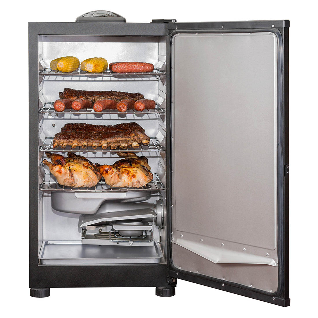 masterbuilt 30in bbq digital electric smoker with top controller