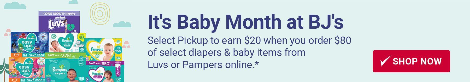 Pickup Diapers at BJs Curbside Pickup