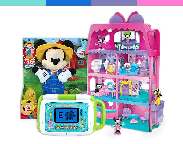 Assortment of toys with great deals