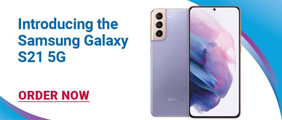 Introducing the Samsung Galaxy S21 5G. Ask how to get the new Samsung Galaxy S21 5G for FREE with qualifying trade in. Click here to PRE-ORDER NOW.