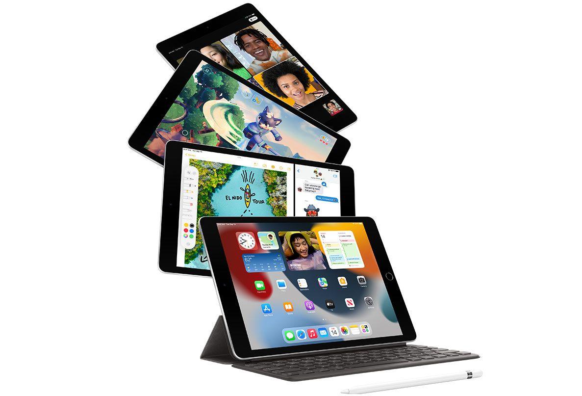Photo of iPad with keyboard
