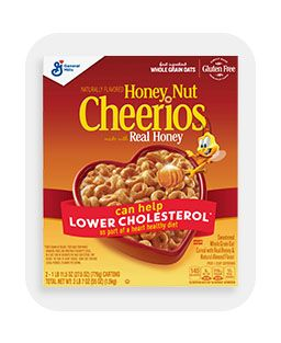 Breakfast, showing Honey Nut Cheerios