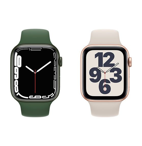 Photo of two Apple Watches
