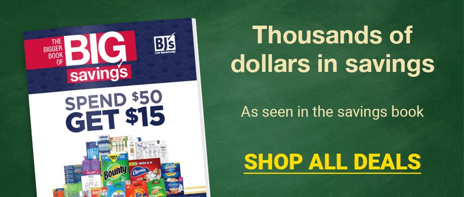 Thousands of dollars in savings. As seen in the savings book. Click here to shop all deals.