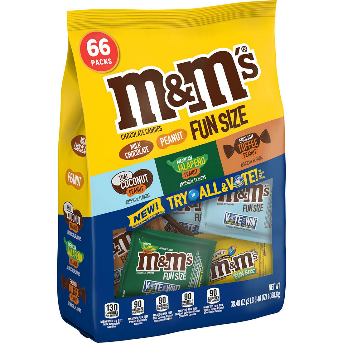 M&M's Flavor Vote Chocolate Candy