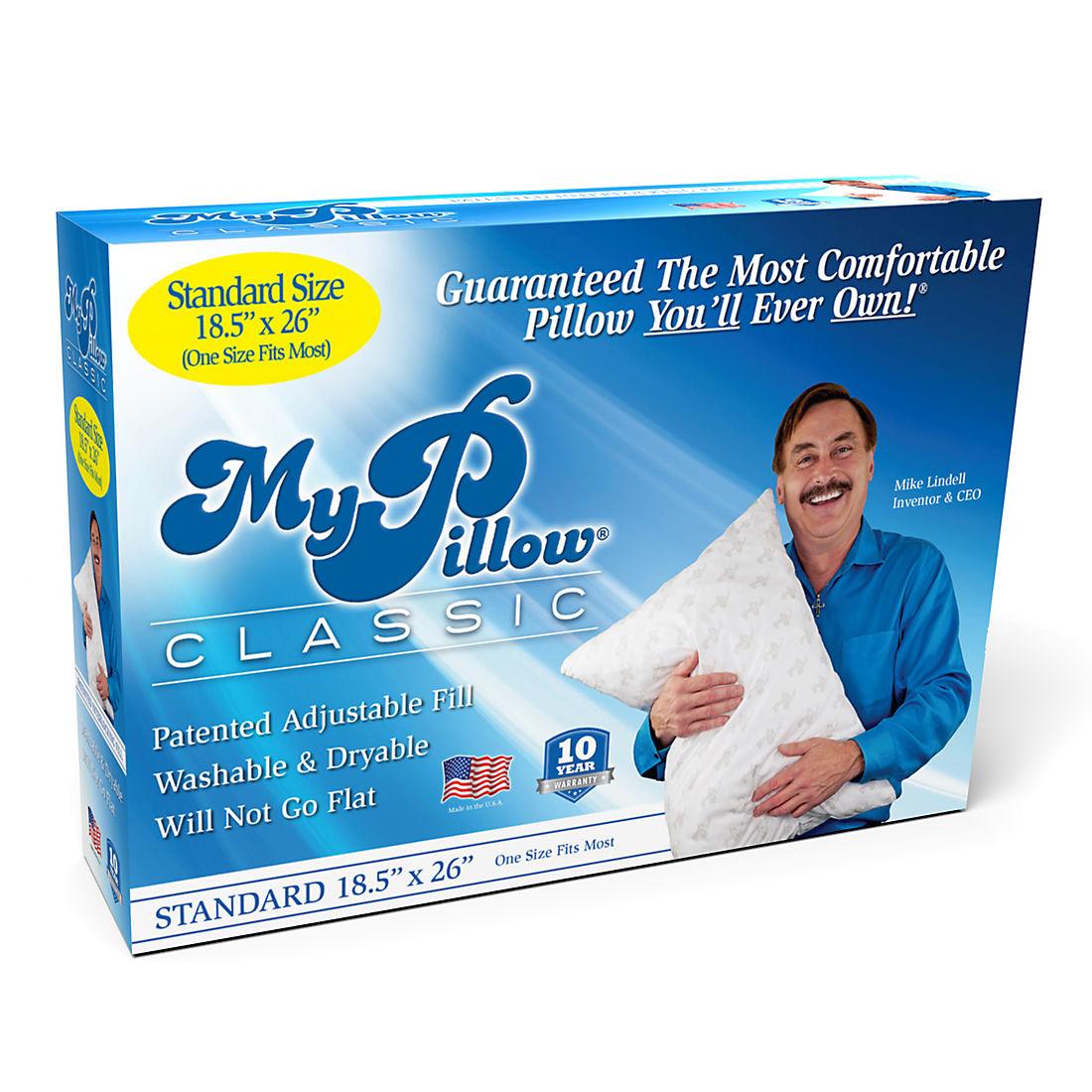 Mypillow Classic Standard Size Pillow Bjs Wholesale Club