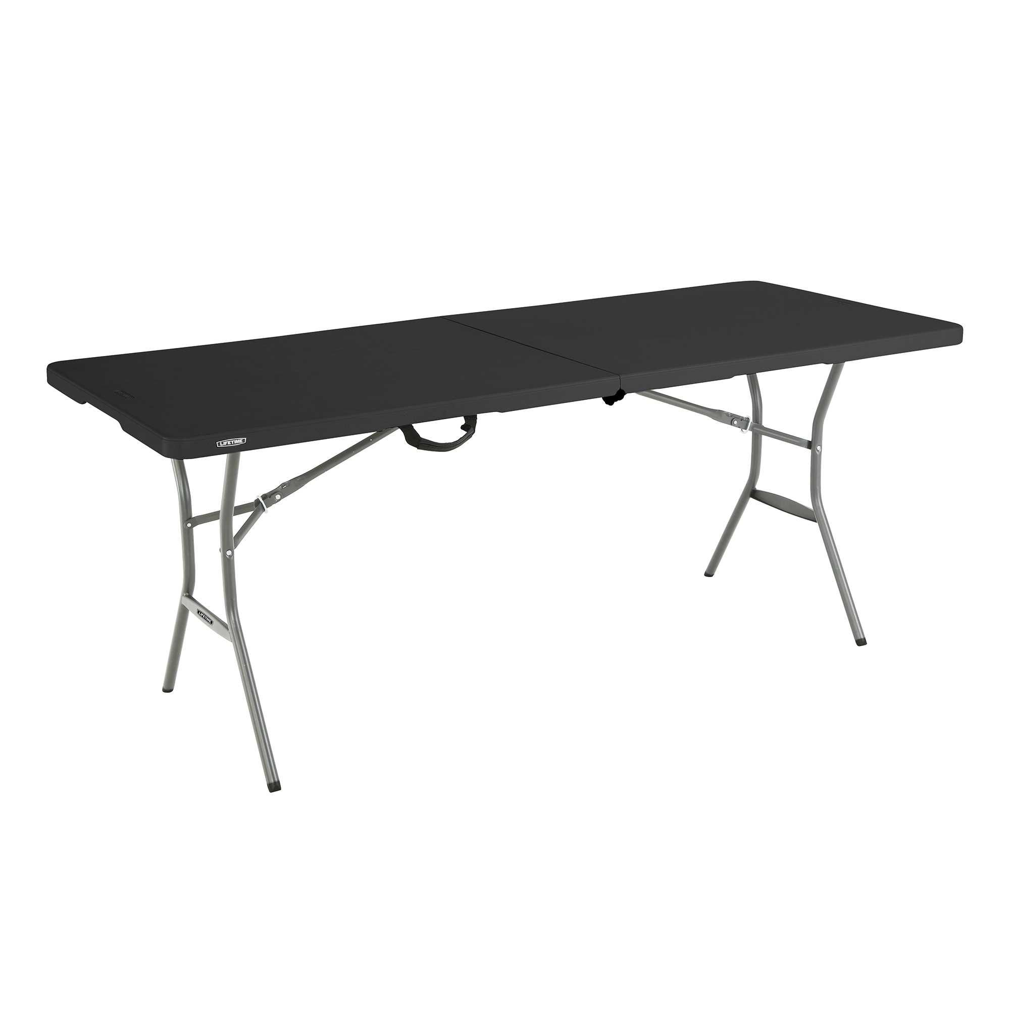 Lifetime 6 Light Commercial Fold In Half Table Bjs Wholesale Club