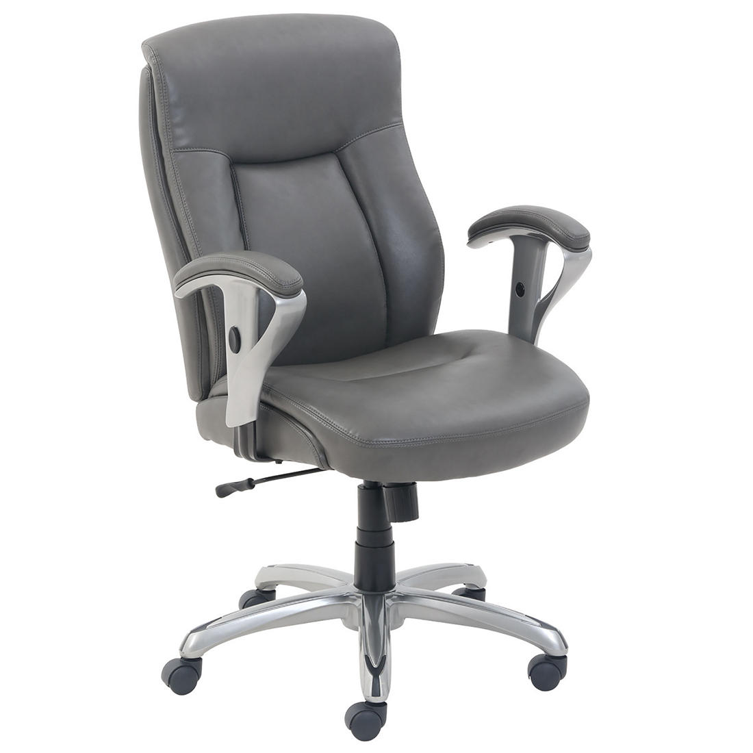 La Z Boy Manager S Chair Gray Bjs Wholesale Club