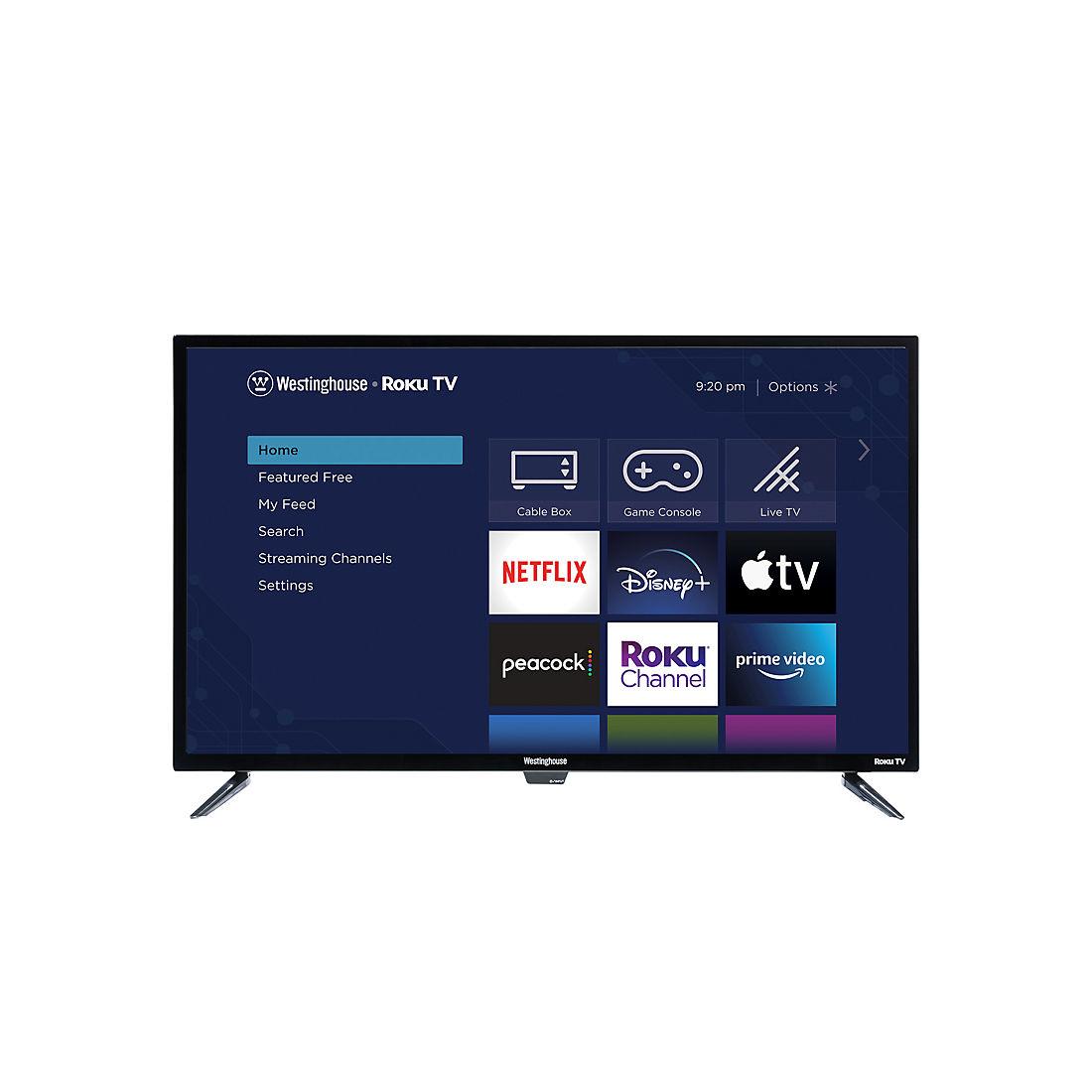 Westinghouse 40 1080p Roku Smart Led Tv Wr40fx2019 Bjs Wholesale Club