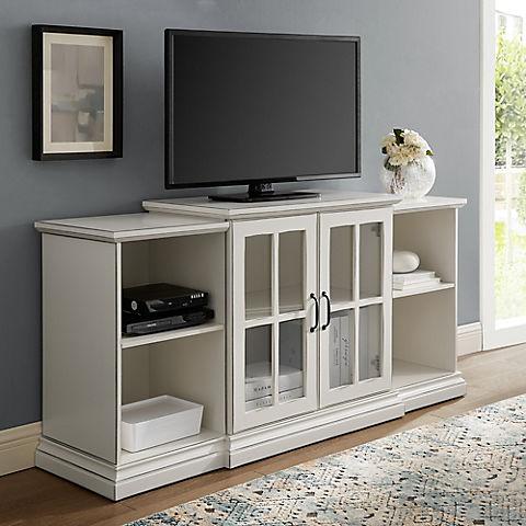 W Trends Tiered Storage Tv Stand 60 Bjs Wholesale Club