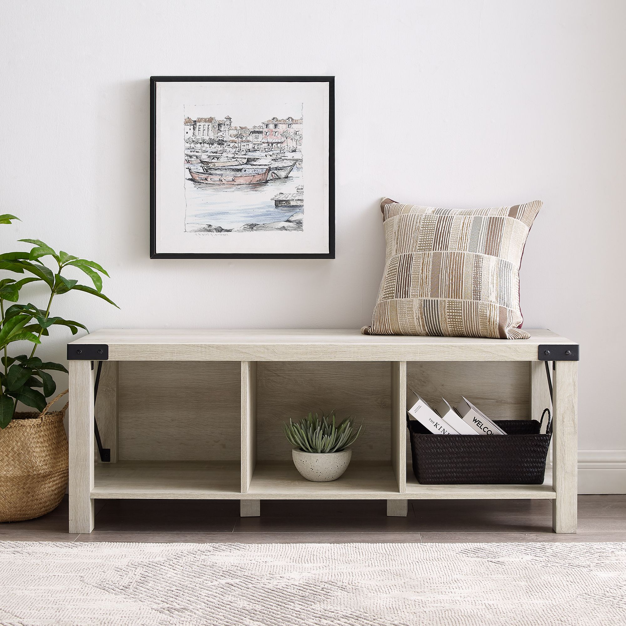 Wood Entryway Benches Marcuscable Com