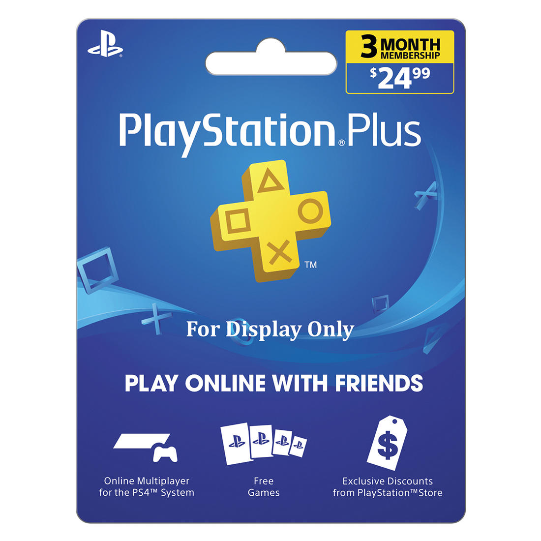 Sony PlayStation Plus 3 Month $24.99 - BJs WholeSale Club