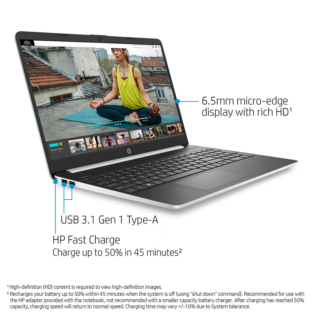 Hp 15 Dy1078nr Laptop 10th Generation Intel Core I7 Bjs Wholesale Club