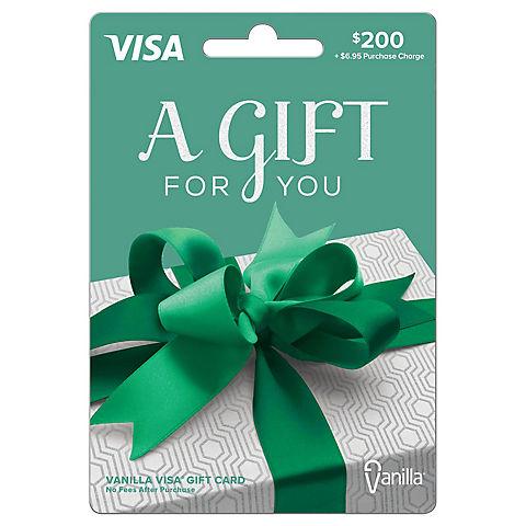 $12 Vanilla Visa Gift Card - BJs WholeSale Club