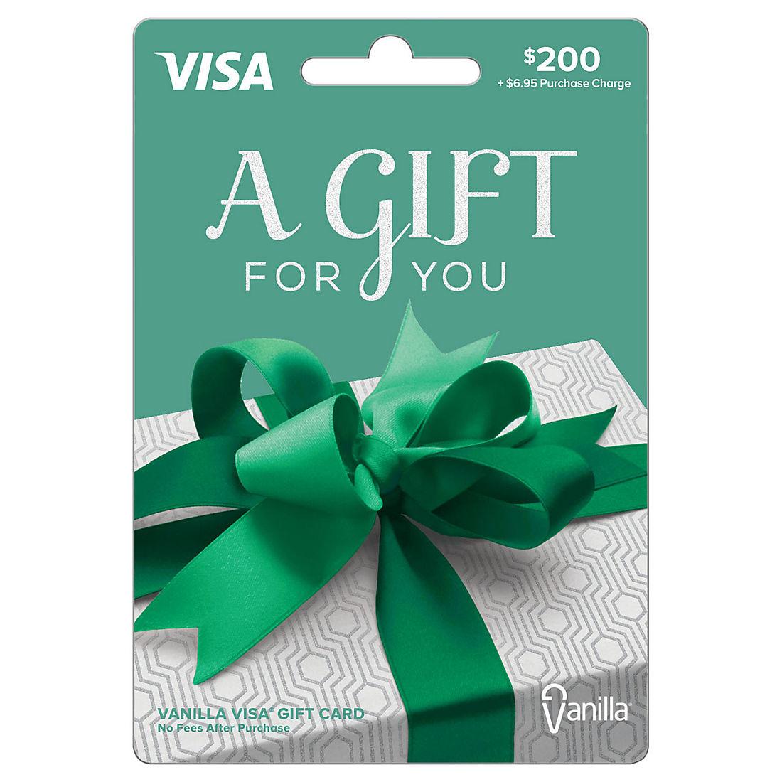 200 Vanilla Visa Gift Card Bjs Wholesale Club