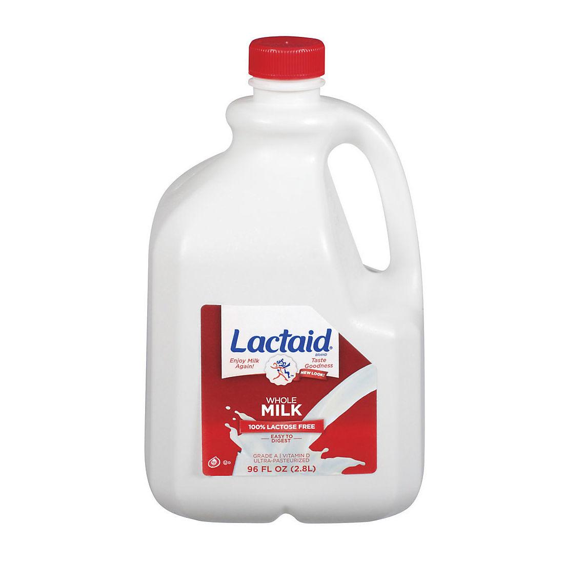 Lactaid Whole Milk 96 Oz Bjs Wholesale Club