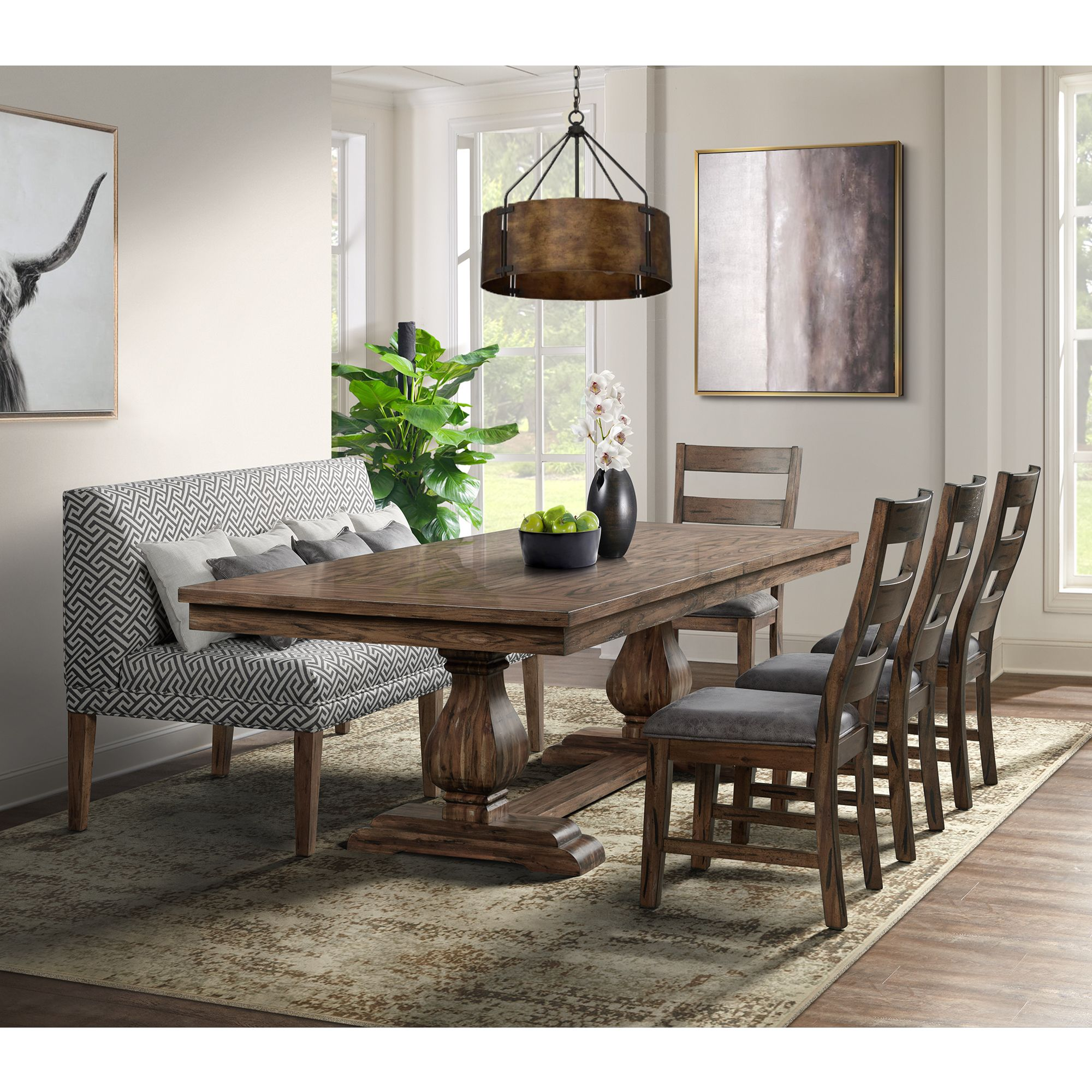 Picture of: Picket House Furnishings Hayward 6 Piece Dining Set Table Bjs Wholesale Club