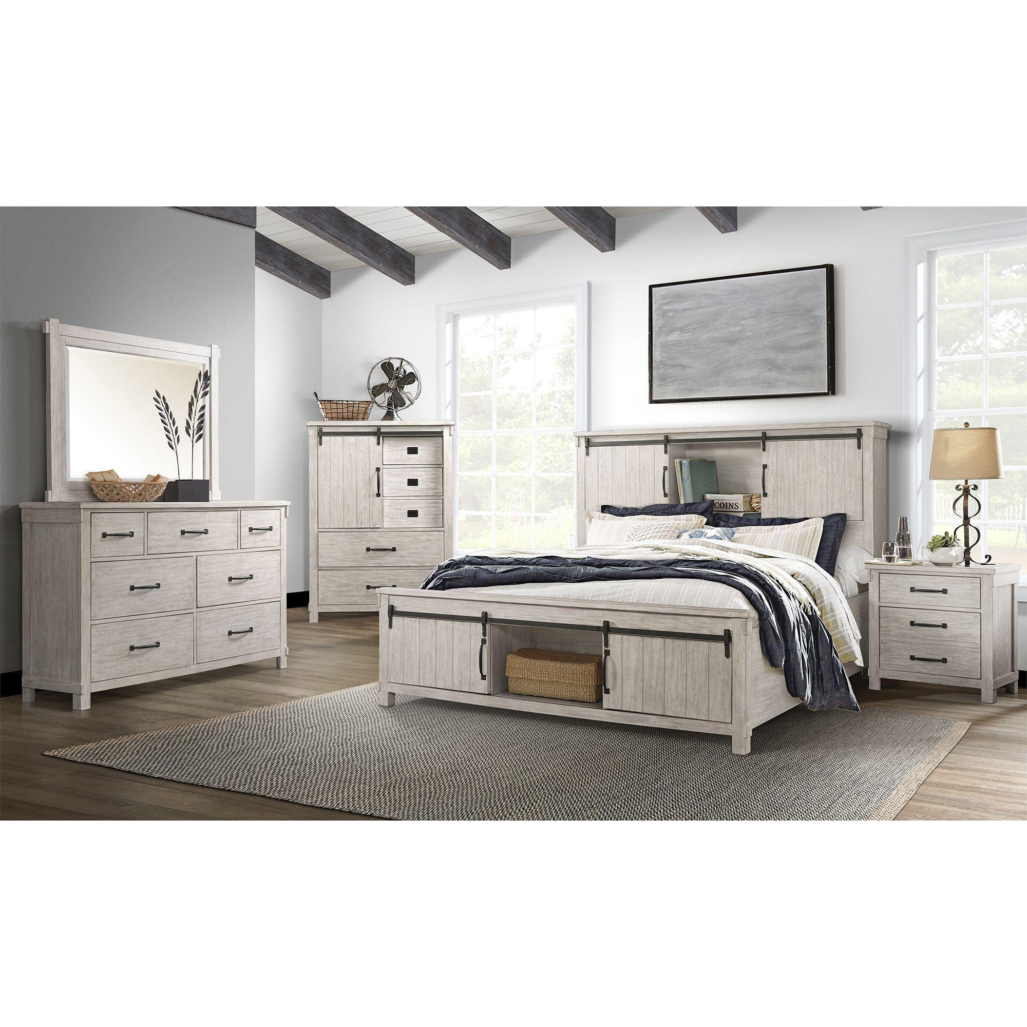 Picture of: Picket House Furnishings Jack Queen Platform Storage 5 Piece Bedroom Set Bjs Wholesale Club