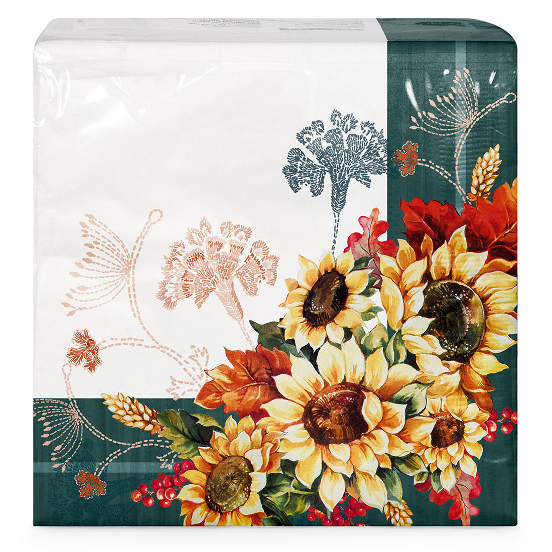 Artstyle 3 Ply Farmhouse Fall Paper Napkins 120 Ct Bjs Wholesale Club