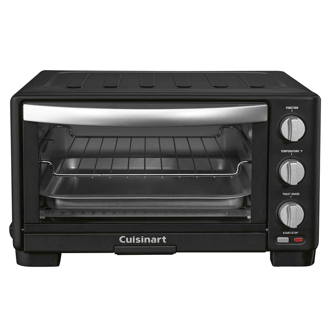 Cuisinart Toaster Oven And Broiler Matte Black Bjs Wholesale Club