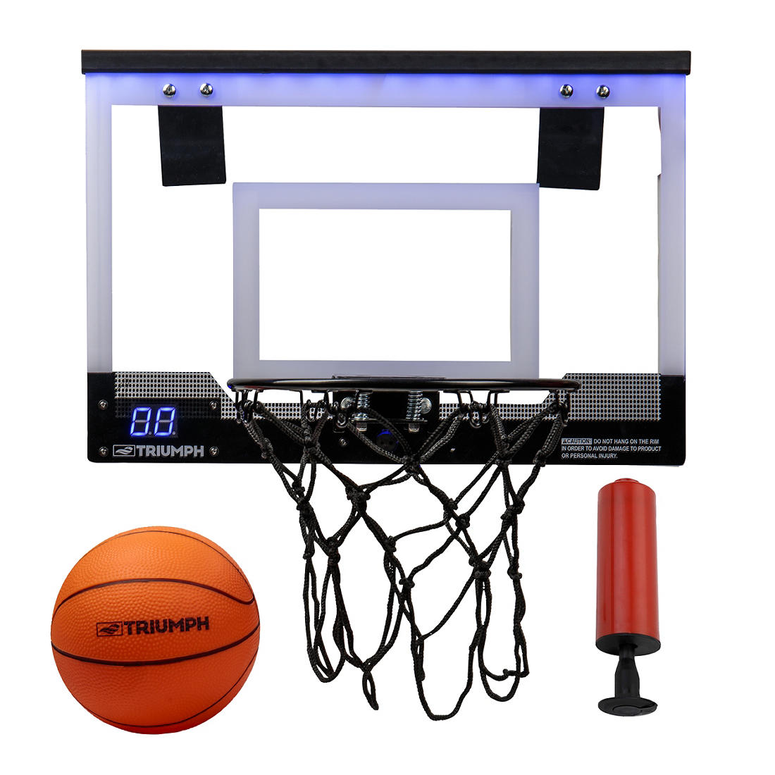 Triumph 18 Led Light Up Over The Door Mini Basketball Hoop Set Bjs Wholesale Club