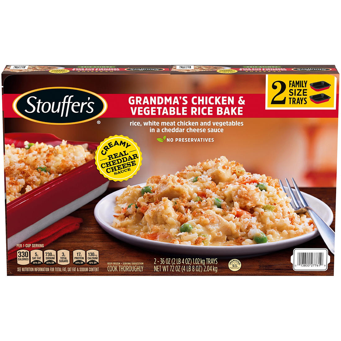 Stouffer'S Grandma'S Chicken And Rice Bake Recipe