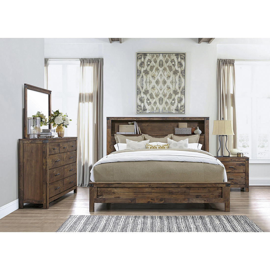 Global Furniture Victoria Queen Bedroom Set With White Glove Delivery Bjs Wholesale Club