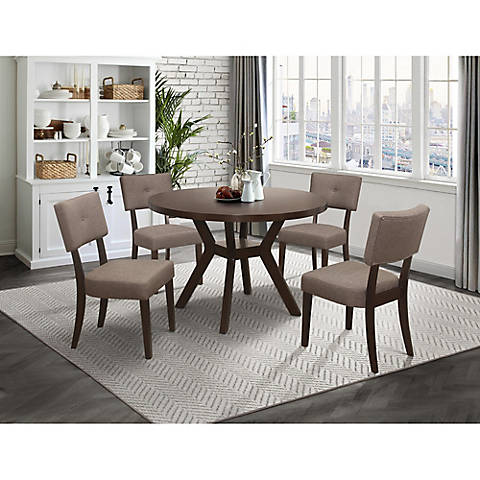 Terri 5 PC Dining Set with White Glove Delivery