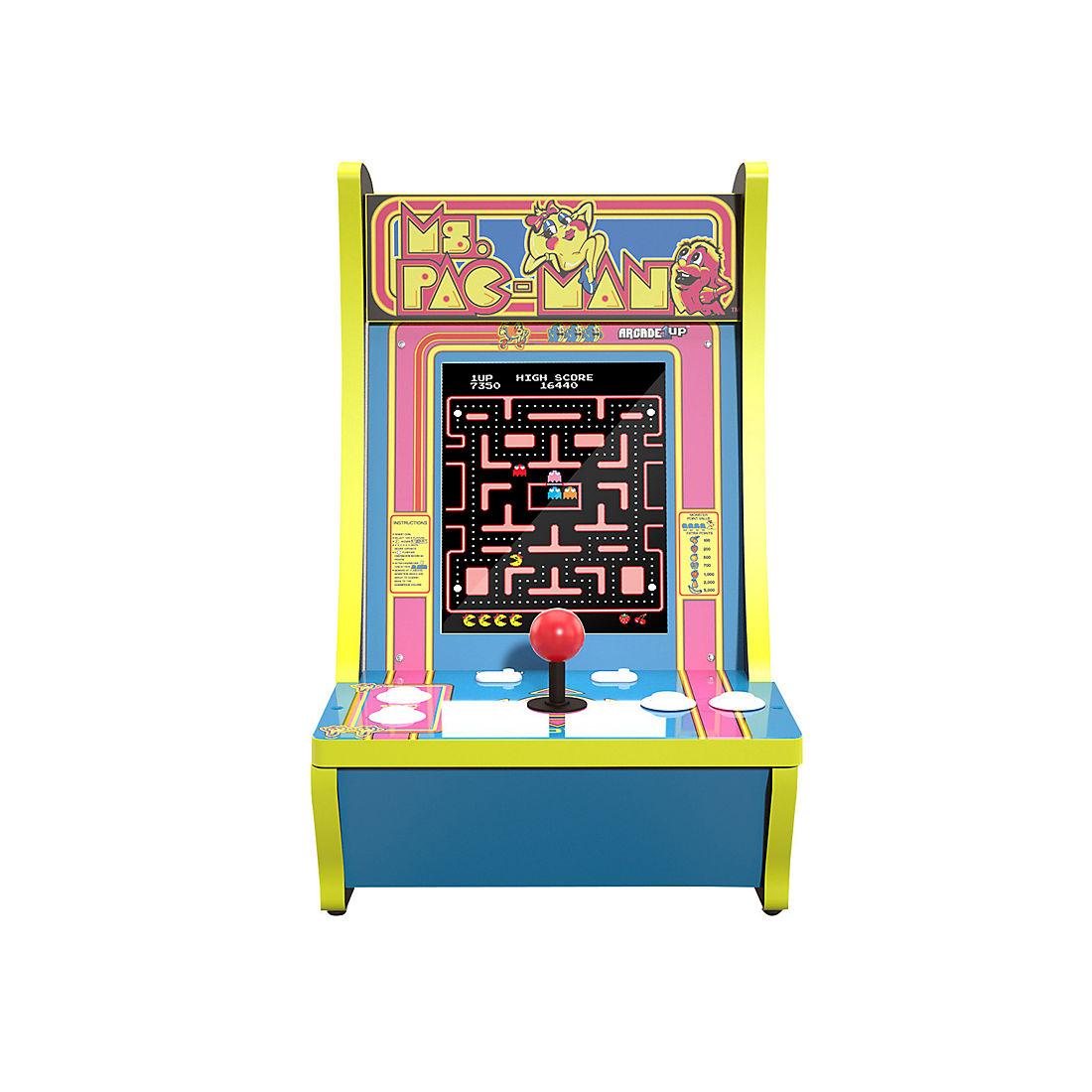 Arcade1up Ms Pac Man 40th Anniversary Countercade Bjs Wholesale Club