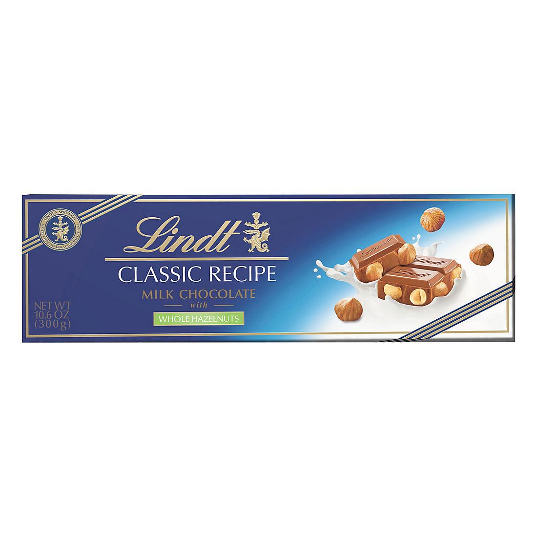 Lindt Swiss Gold Milk Chocolate And Hazelnut Bar Bjs Wholesale Club