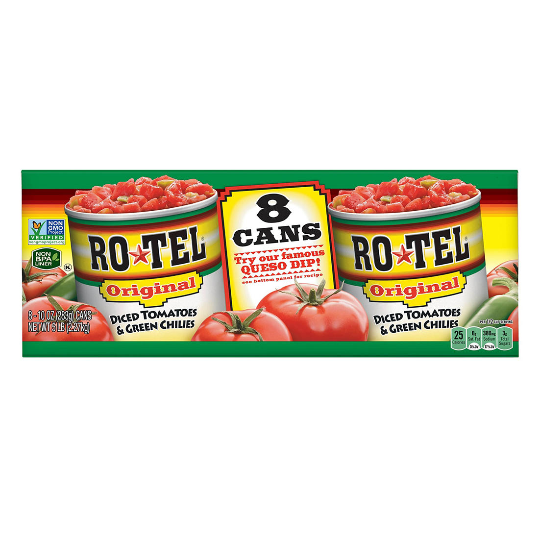 Rotel Original Diced Tomatoes And Green Chilies 8 Pk 10 Oz Bjs Wholesale Club