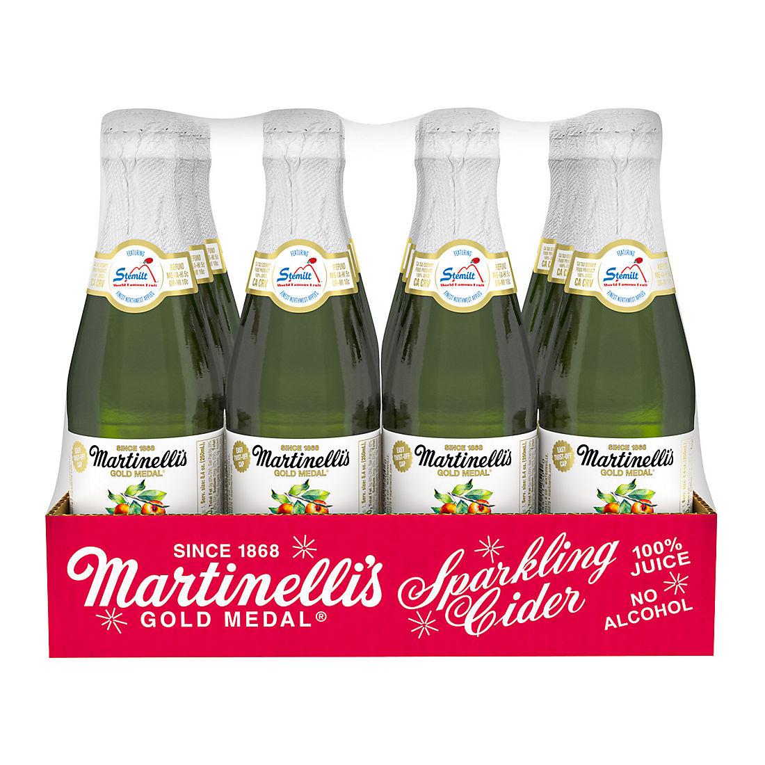 Martinelli S Gold Medal Mini Sparkling Cider Bjs Wholesale Club