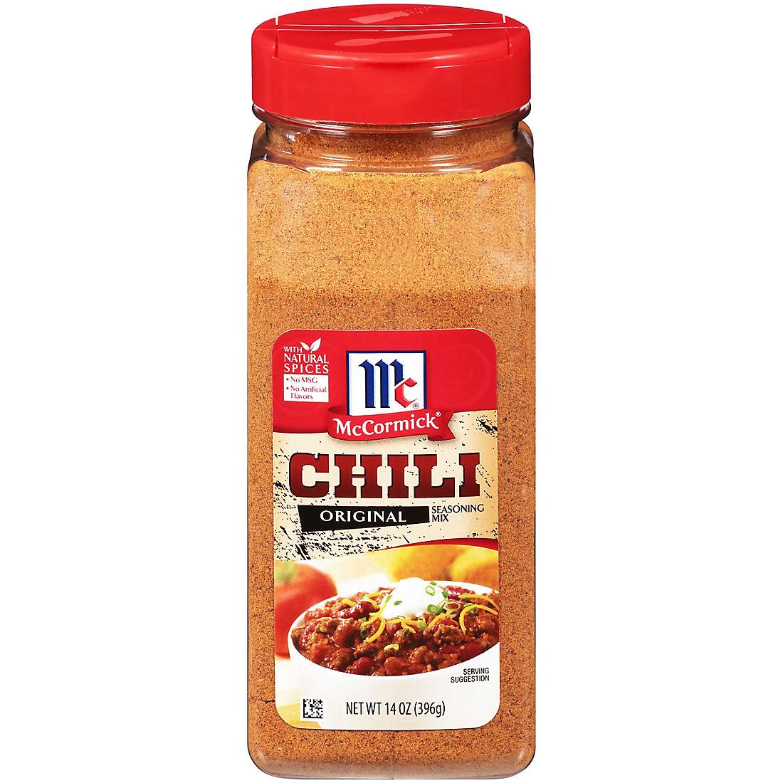 Mccormick Chili Original Seasoning Mix 14 Oz Bjs Wholesale Club