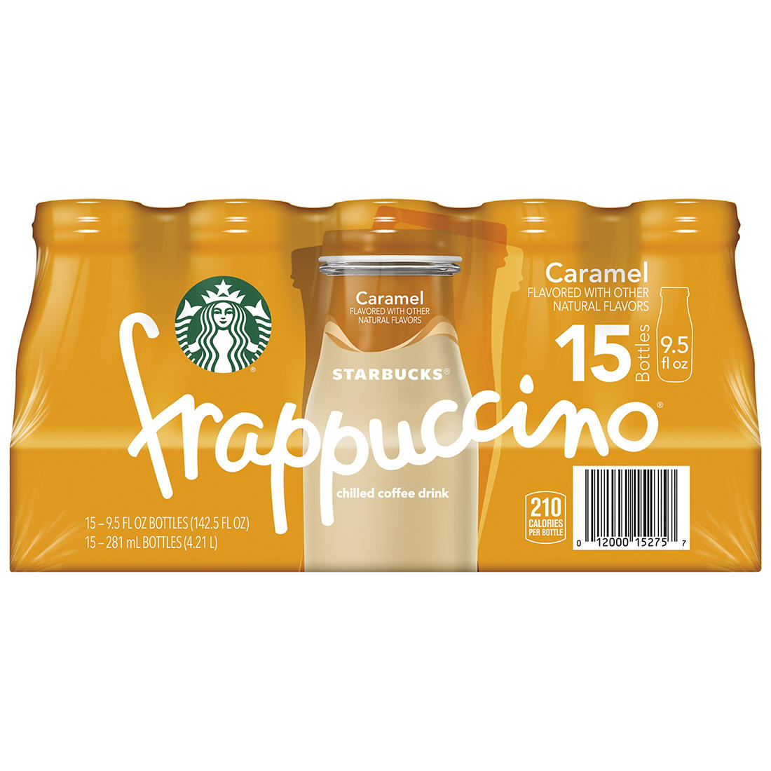 Starbucks Caramel Frappuccino 15 Pk 9 5 Oz Bjs Wholesale Club