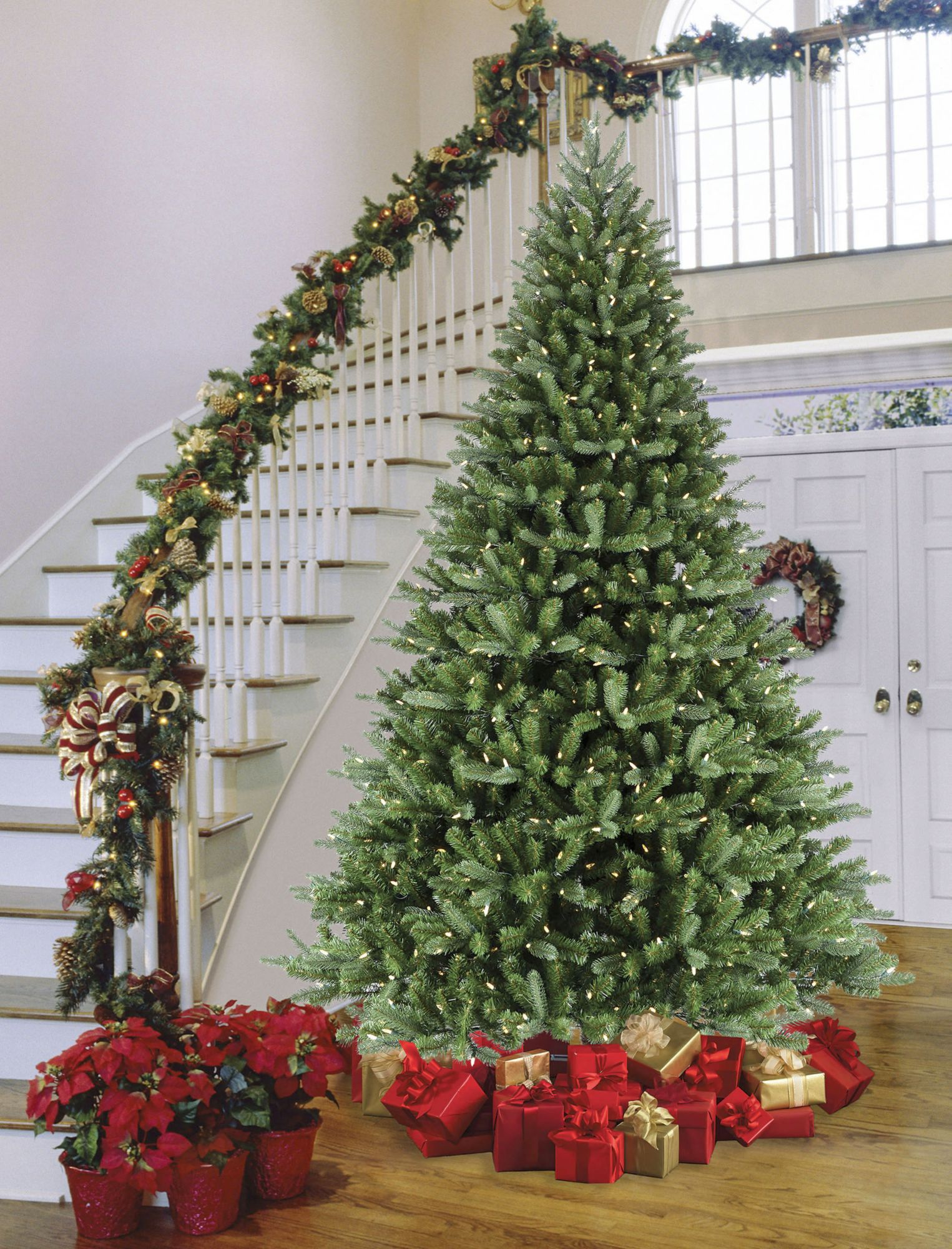 Sylvania 9 8 Function Color Changing Prelit Led Tree With Foot Pedal Bjs Wholesale Club